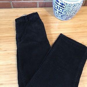 GAP Kids Corduroy Black Pants Size 12